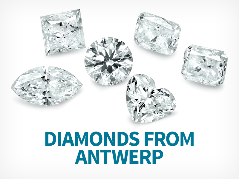 We travel across the world to Antwerp, Belgium the diamond capital to get the best qulaity and prices available